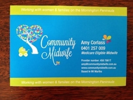 Community midwife card