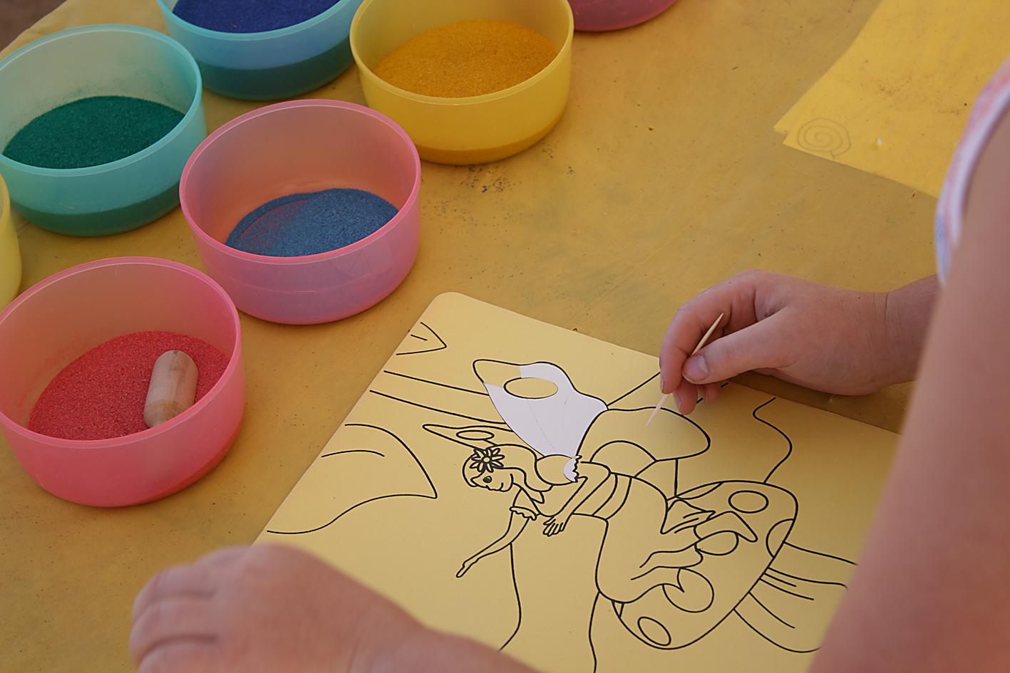 Песок своими руками для детей 49
