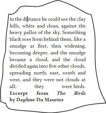 Du Maurier excerpt