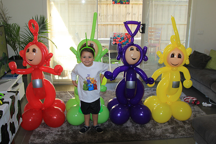 Tj S Teletubbies Party Mornington Peninsula Kids