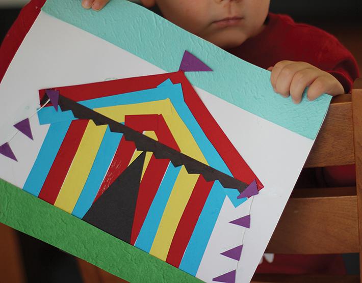 Craft: Circus Tent - Craft - Mornington Peninsula Kids